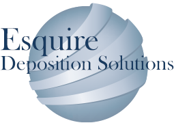 Esquire Deposition Solutions Ball Logo